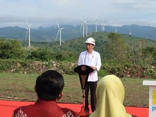 Kebun Angin Mirip di Eropa itu Akhirnya Diresmikan Jokowi