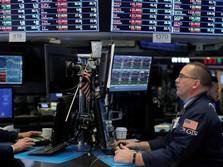 Investor Khawatir Perang Dagang, Wall Street Ditutup Flat