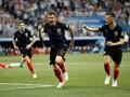 Babak Pertama: Dua Gol Cepat, Kroasia 1-1 Denmark
