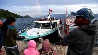 Pengawasan Keselamatan Layar di Danau Toba Diperketat