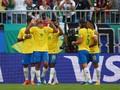 7 Fakta Usai Brasil Lolos ke Perempat Final Piala Dunia 2018