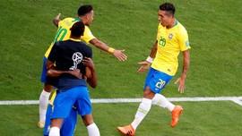 Prediksi Brasil vs Belgia di Perempat Final Piala Dunia 2018