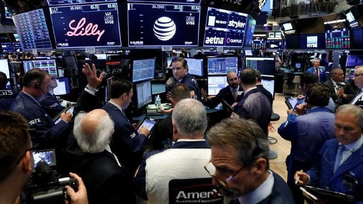 Wall Street Ditutup Variatif, Nasdaq Lanjutkan Reli