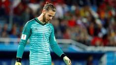 De Gea di Piala Dunia 2018: 7 Tembakan, 6 Kebobolan