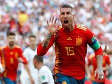 Bintang Real Madrid Sergio Ramos Positif Covid-19