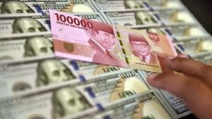 Wabah Virus Corona Tekan Rupiah ke Rp13.586 per Dolar AS