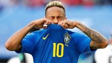Neymar Dipaksa Pakai Nomor 10 di Timnas Brasil