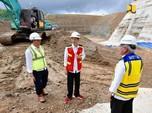 Jokowi Tinjau Pembangunan Bendungan Paselloreng di Sulsel