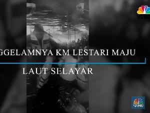 Detik-detik Tenggelamnya Kapal KM Lestari Maju di Selayar