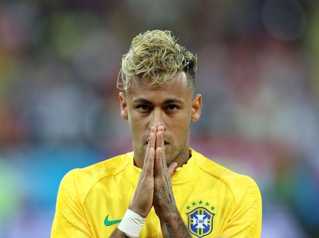 Transformasi Rambut Bintang Brazil Neymar, dari Mohawk Jadi Mirip Ramen