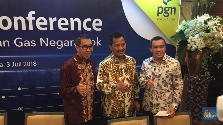 PGN rombak direksi, Jobi Triananda dicopot sebagai direktur utama diganti oleh Gigih Prakoso dari Pertamina.