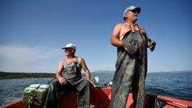 FOTO: Akhir dari Nelayan Yunani