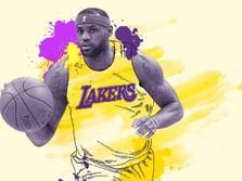 Gabung LA Lakers, Langkah LeBron James Jadi Miliuner