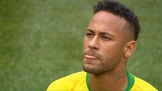 VIDEO: Neymar Sering Ganti Gaya Rambut di Piala Dunia 2018