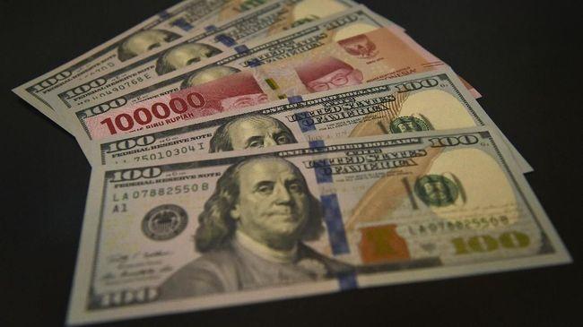 Data Ekonomi AS Buruk, Rupiah Naik ke Rp14.148 per Dolar AS