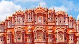 'Kota Pink' di India Bagi Turis Pecinta Arsitektur dan Foto