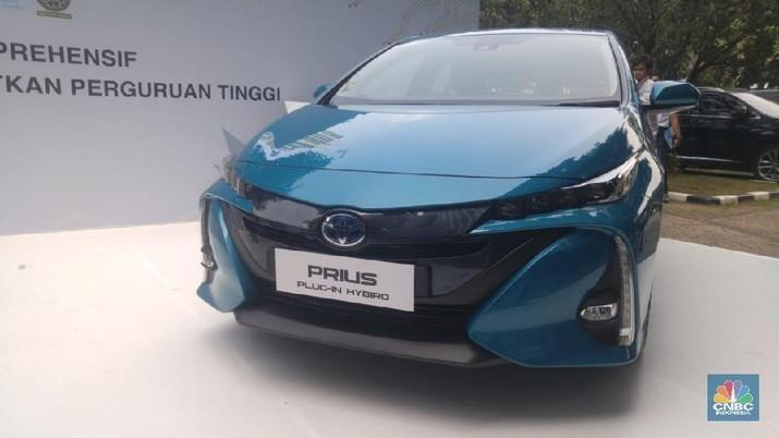 Mobil listrik Toyota berkonsep HEV akan diproduksi di Indonesia pada 2022.