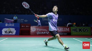 Anthony Ingin Ulang Sukses Indonesia Master di Indonesia Open