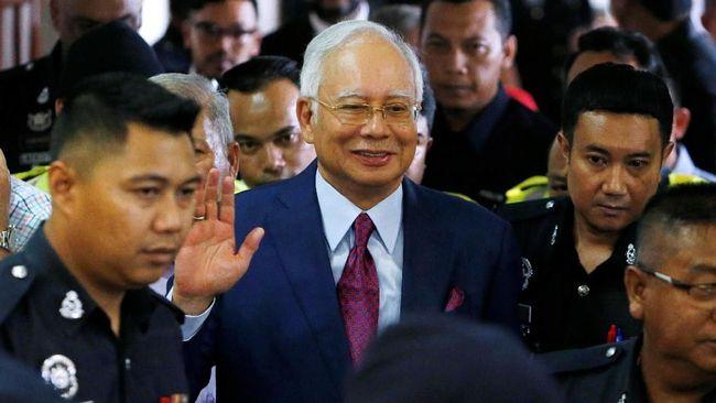 Pengadilan Malaysia Tolak Banding Najib Razak Terkait TPPU