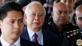 Najib Razak Ditahan Terkait Penyelidikan Kasus 1MDB