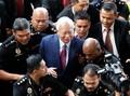 Empat Dakwaan Korupsi, Eks-PM Najib Sebut Diri Tak Bersalah