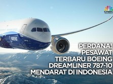 Water Salute Bagi Dreamliner 787-10 di Bandara Ngurah Rai!