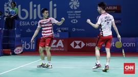 Indonesia Kirim Tiga Ganda Putra ke Perempat Final