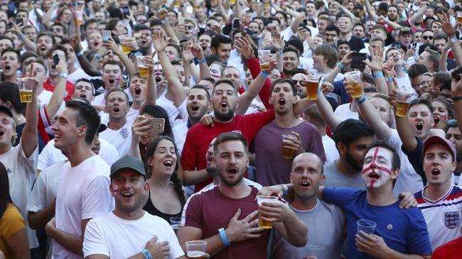 Dukungan Warga Liverpool untuk Timnas Inggris di Piala Dunia