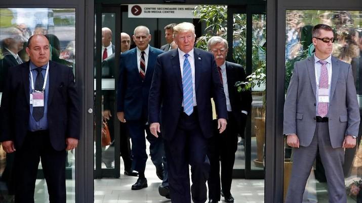 Trump Duga RI Tak Patuhi Kriteria Fasilitas Bebas Bea Masuk