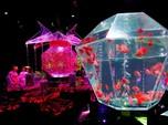 Warna Warni Seni Akuarium dengan Ribuan Ikan Hias