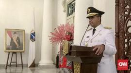 Anies Lantik Sejumlah Kepala Dinas Baru di Pemprov DKI