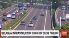Belanja Infrastruktur Capai Rp 30,38 Triliun