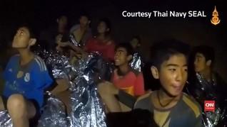 VIDEO: Latihan Menyelam Untuk 12 Remaja yang Terjebak di Gua