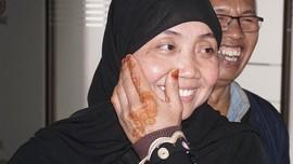 Bebas dari Hukuman Mati, Nurkoyah Disambut Tangis Keluarga