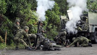 FOTO: Pertempuran Sengit Merebut Kota di Filipina dari ISIS