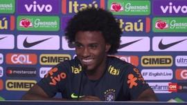 VIDEO: Willian Siap Kalahkan Hazard di Piala Dunia 2018