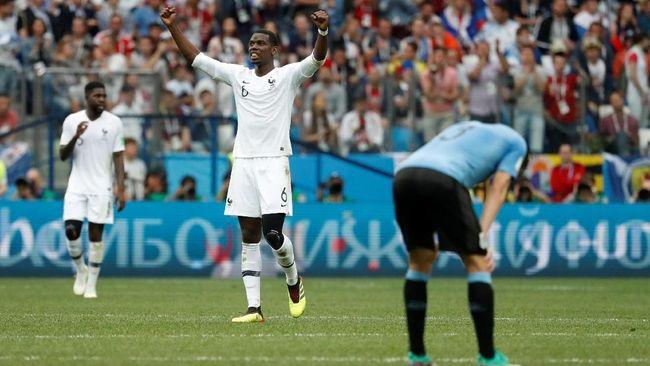 Prancis Bermain Buruk Tetap ke Semifinal