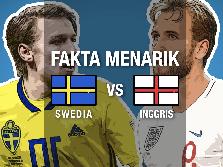 VIDEO: Fakta Menarik Jelang Swedia vs Inggris