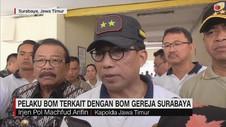 Pelaku Bom Pasuruan Terkait Dengan Bom Surabaya