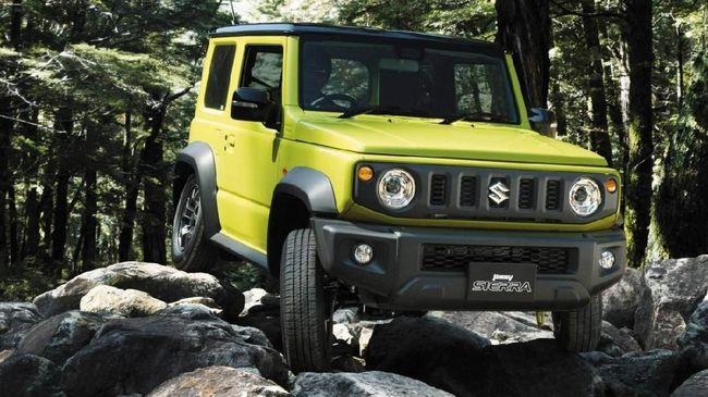 Indonesia Ditunjuk Jadi Basis Produksi Suzuki Jimny