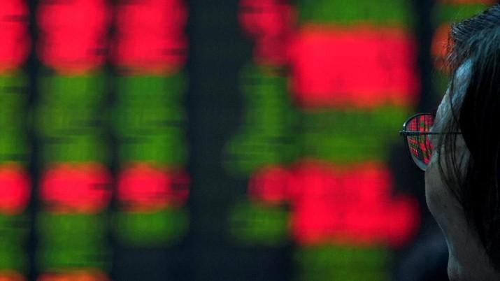 Bursa saham China dan Hong Kong melaju di zona hijau pada perdagangan hari ini.