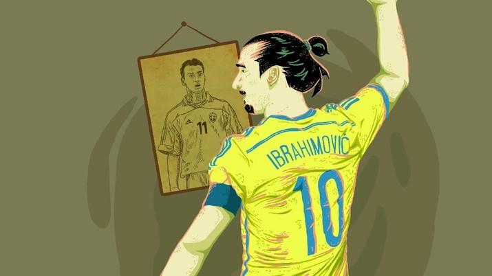 Sepanjang Timnas Swedia Sepeninggalan Zlatan Ibrahimovic