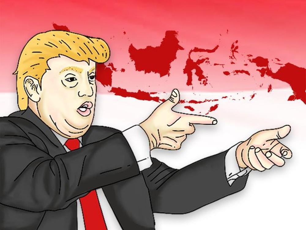 Trump Tabuh Genderang Perang Dagang Lawan RI