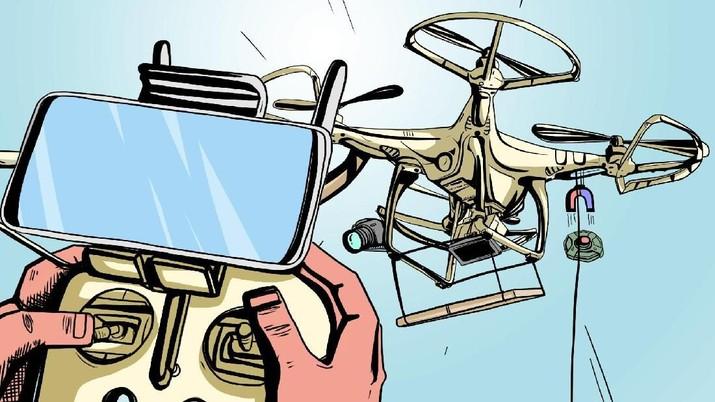 Bukalapak Uji Coba Pengiriman Barang Pakai Drone