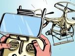 Selain Buat Perang, Drone Bisa Digunakan Untuk 6 Hal Ini