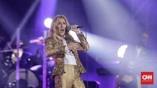Celine Dion Lebih Pilih Bawa Anjing Dibanding Anak Saat Tur
