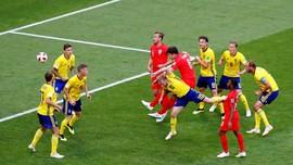 FOTO: Timnas Inggris Melangkah ke Semifinal Piala Dunia 2018