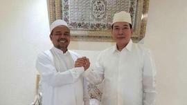 Temui Rizieq di Mekkah, Tommy Soeharto Tak Bahas Capres