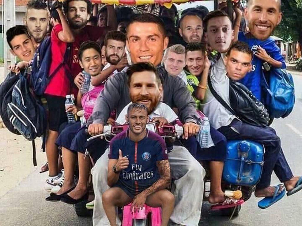 Jelang Final, Ini Meme Kocak Sepanjang Piala Dunia 2018