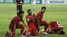 Laga Timnas Indonesia U-19 vs Thailand Sepi Penonton